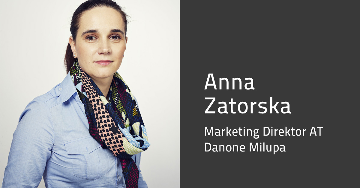Anna Zatorska - Marketing Direktor Milupa